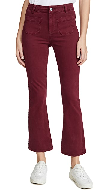 PAIGE Claudine Ankle Flare Jeans
