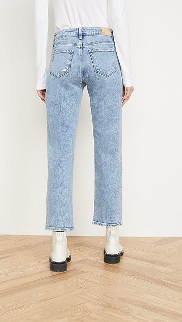 PAIGE Noella Straight Jeans