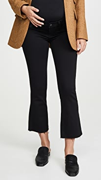 Colette Maternity Crop Flare Jeans