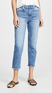 Hoxton Straight Crop Jeans