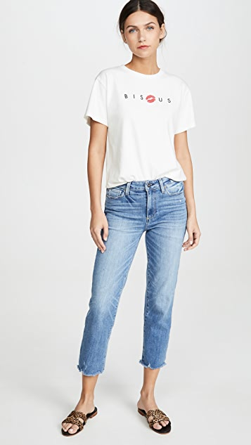 PAIGE Hoxton Straight Crop Jeans