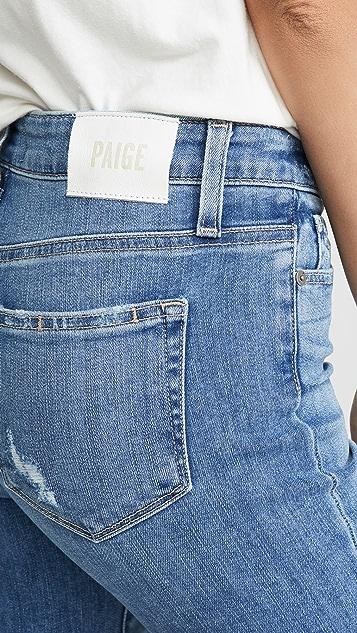 PAIGE Hoxton 九分直筒牛仔裤