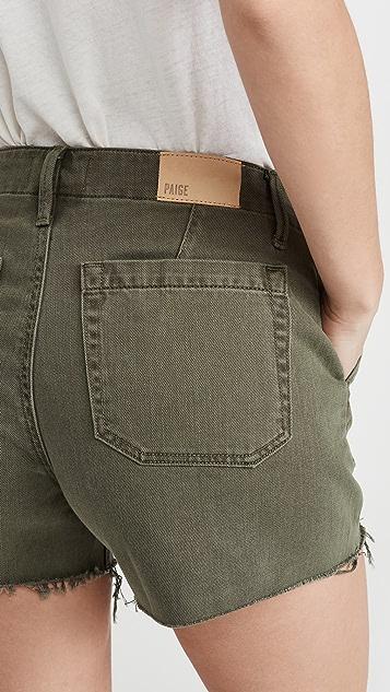 PAIGE Mayslie Utility Shorts