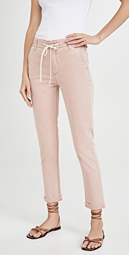 PAIGE - Drawstring Pants with Cuff