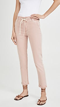 Drawstring Pants with Cuff
