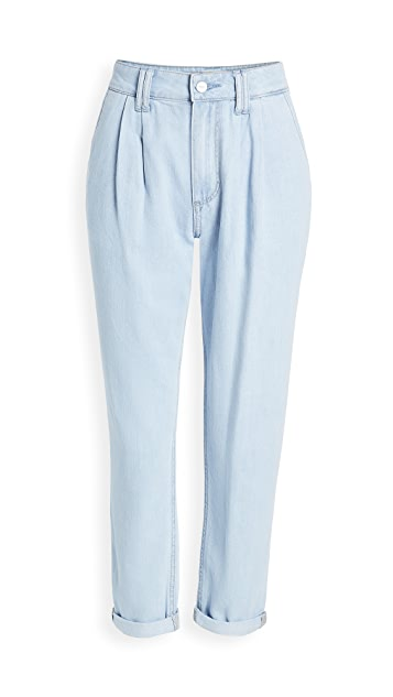 PAIGE Pleated Trouser Jeans