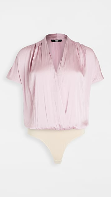 PAIGE Dijon Thong Bodysuit