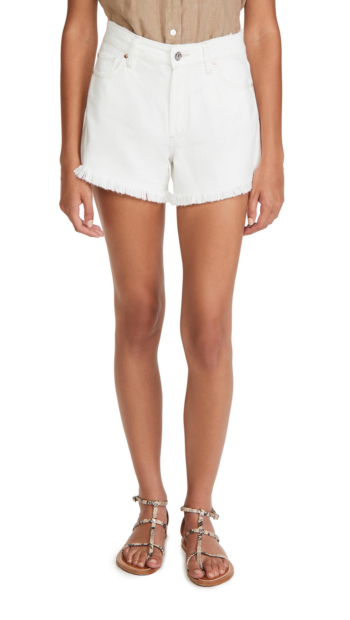 PAIGE Noella Cut Off Shorts