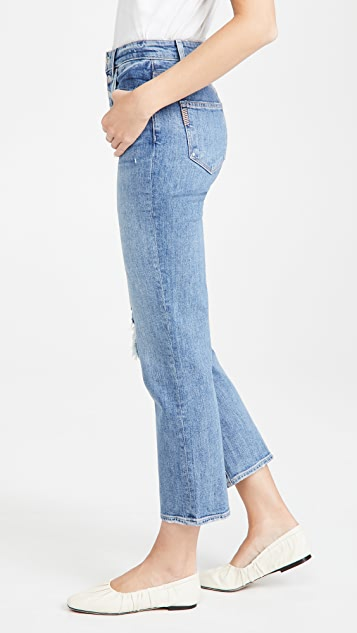 PAIGE Sarah Straight Ankle Jeans