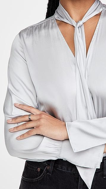 PAIGE Saffron Thong Bodysuit