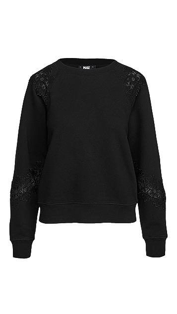 PAIGE Daytona Sweatshirt Lace
