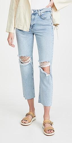 PAIGE - Noella Straight Jeans