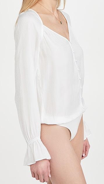 PAIGE Delanie Thong Bodysuit