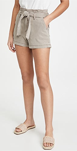 PAIGE - Anessa Shorts with Pleated Waistband