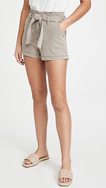 PAIGE Anessa Shorts with Pleated Waistband