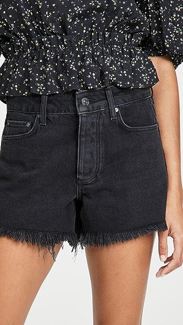 PAIGE Noella Cutoff Shorts
