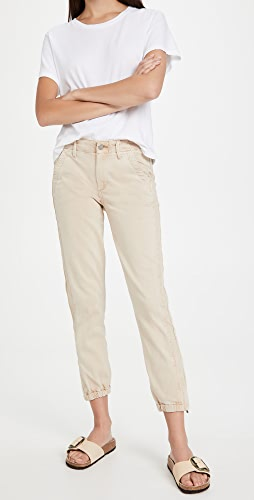 PAIGE - Mayslie Joggers with Grosgrain Side Stripe