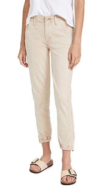 PAIGE Mayslie Joggers with Grosgrain Side Stripe