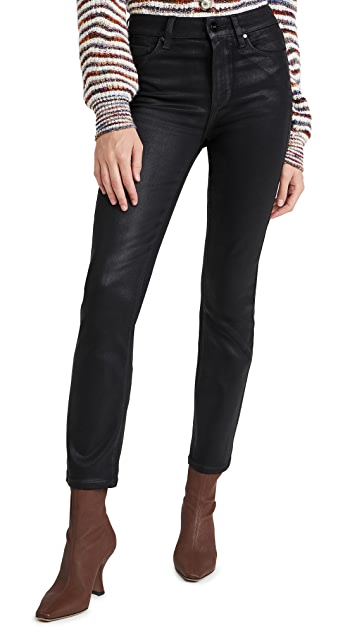 PAIGE Cindy Luxe Coating Jeans
