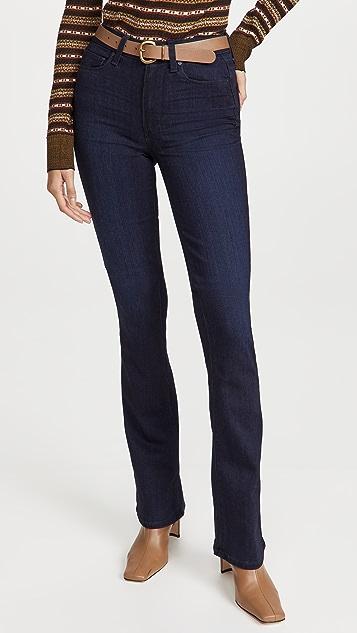 PAIGE Flaunt Denim Hourglass 牛仔裤