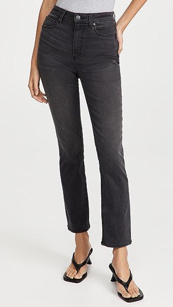 PAIGE Flaunt Denim Accent Jeans