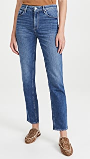 PAIGE Stella Straight Jeans