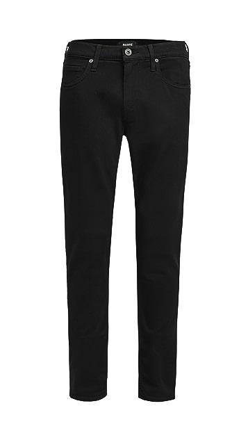 PAIGE Black Shadow Croft Pants