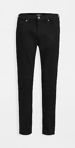 PAIGE - Black Shadow Croft Pants