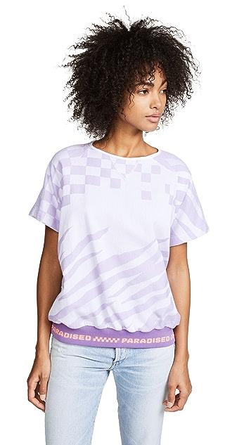 Paradised Short Sleeve Sweatshirt