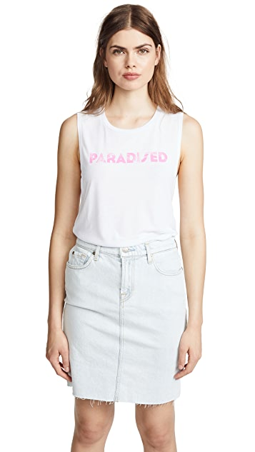 Paradised Palm Tank Top