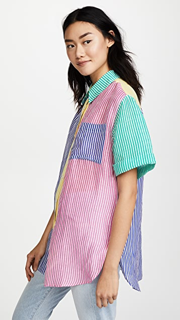 A Peace Treaty Pirata Shirt Dress