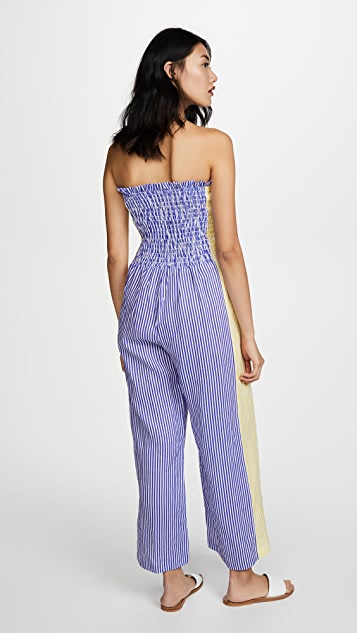 A Peace Treaty Pirata Ruched Jumpsuit
