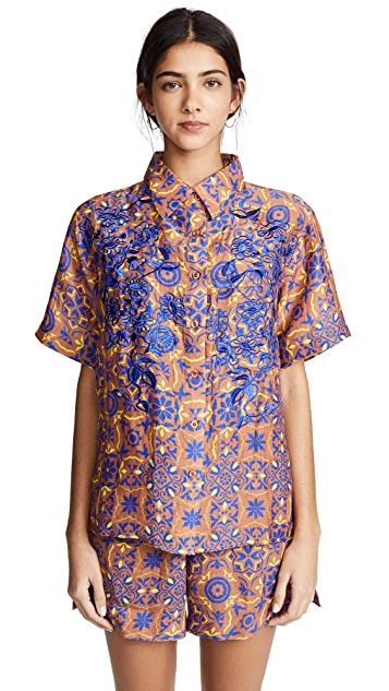 A Peace Treaty Aveiro Button Down Shirt
