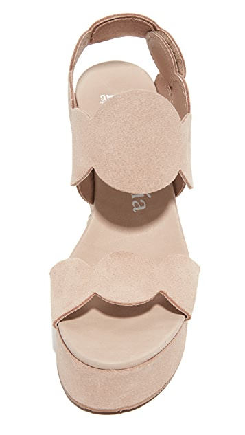 Pedro Garcia Dyane Wedge Sandals