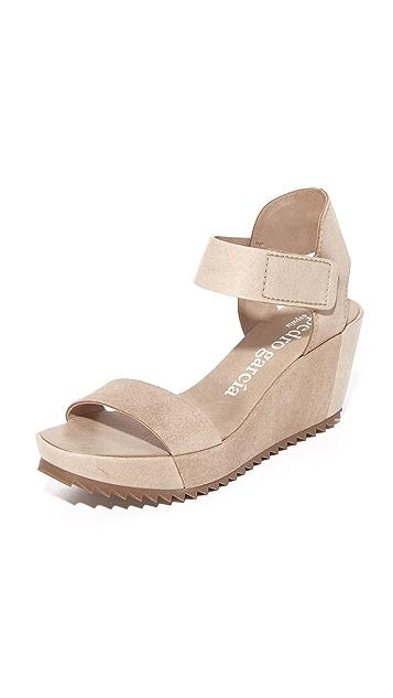 Pedro Garcia Francesca Wedge Sandals