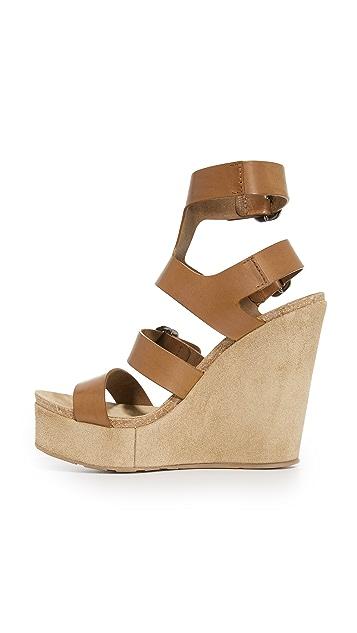Pedro Garcia Tex Wedge Sandals