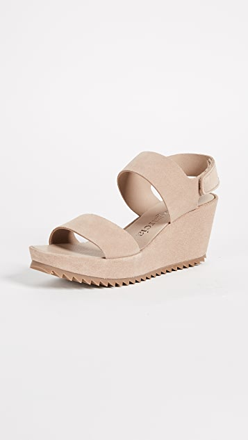 Pedro Garcia Fiona Wedge Sandals - Sirocco