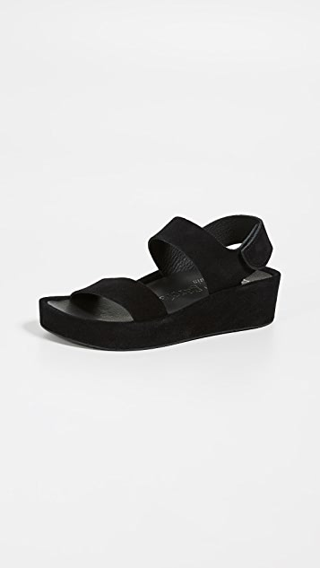 Pedro Garcia Lacey Sandals - Black