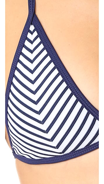Peixoto Regatta Triangle Bikini Top