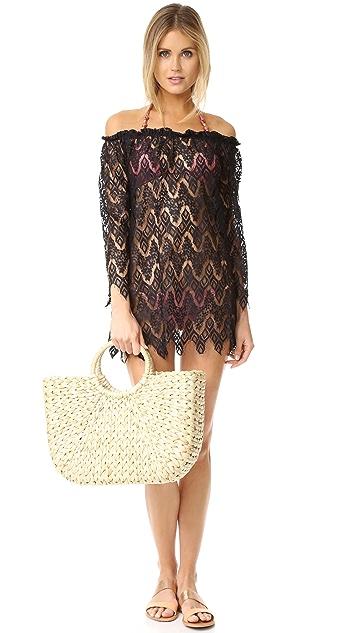 Peixoto Rose Lace Dress