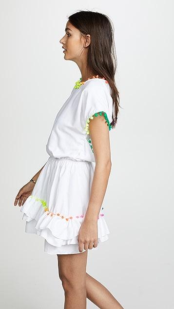 Peixoto Nissi 绒球连衣裙