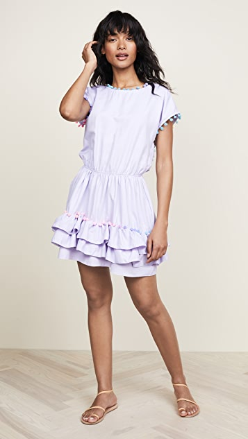Peixoto Nissi Pom Pom Dress