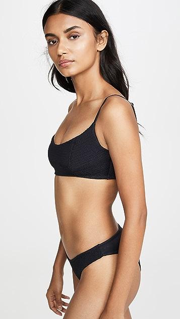 Peixoto Jojo Smocked Bikini Top