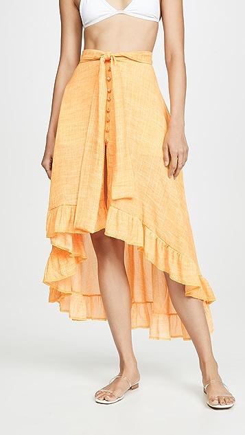 Peixoto Luna 半身裙
