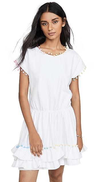 Peixoto Мини-платье с помпонами