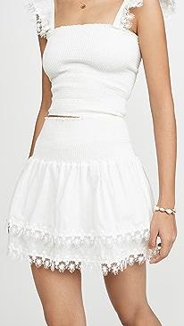 Ruffle Miniskirt