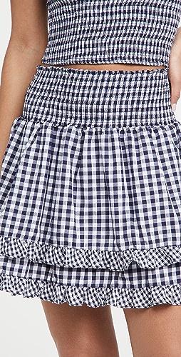 Peixoto - Belle 格子半身裙
