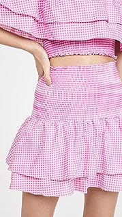 Peixoto Scarlet Skirt