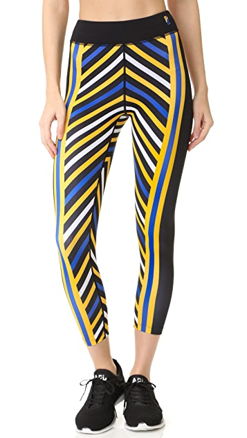 P.E NATION Longest Yard Leggings