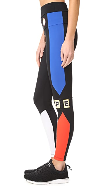 P.E NATION Play Ball Leggings